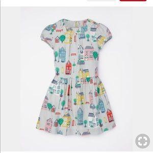Mini Boden Beautiful Lined Printed Tea Dress 4/5t